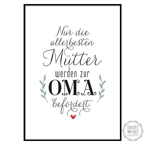 "Kunstdruck ""Mama und Oma"""