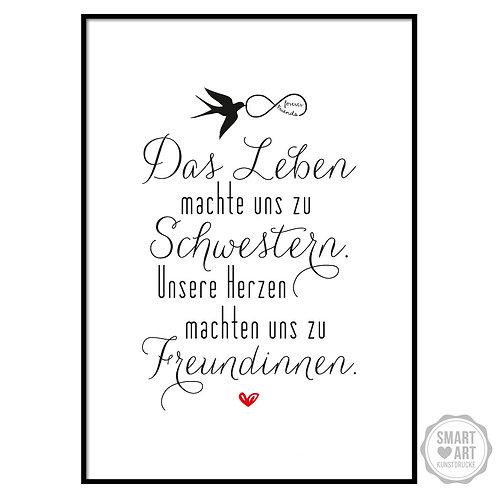 """Kunstdruck """"Schwesterherz"""""""