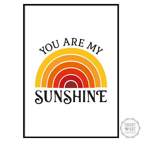 """Kunstdruck """"My Sunshine"""""""