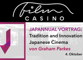 Japannual Vortrag: Tradition and Innovation in Japanese Cinema von Graham Parkes