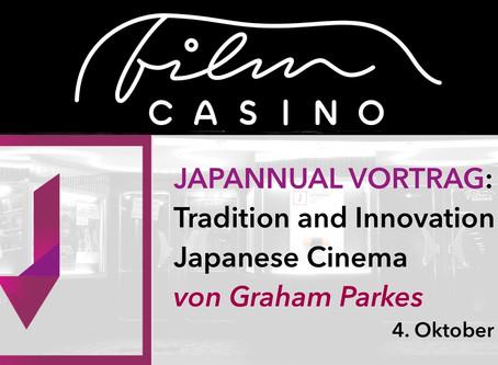 Japannual Vortrag: Tradition and Innovation in Japanese Cinema von Graham Parkes