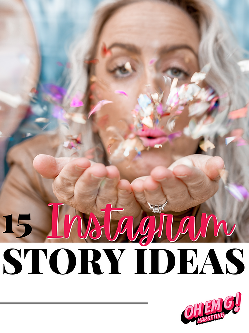 15 Instagram Story Ideas