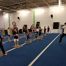 Gymnastics Ninja Kids Class