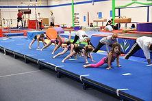 Girls Gymnastcs Class