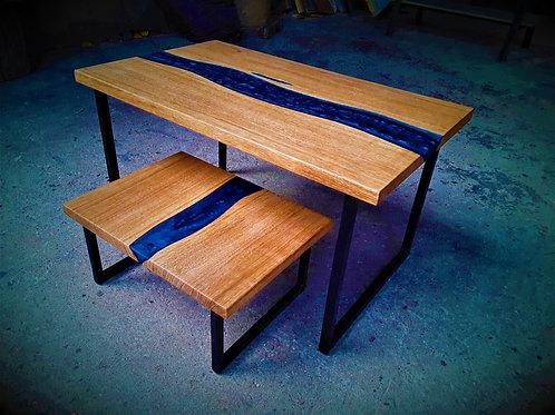 Kit Table de chevet / Tabouret