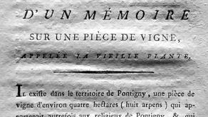 Um panfleto promocional do século XVIII