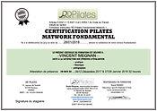 certification instructeur Pilates Fondam