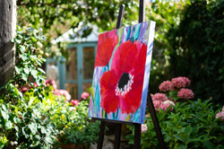 Rosemary Abrahams Floral Painting