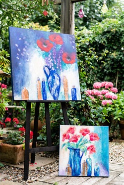Rosie Abrahams Floral Painting