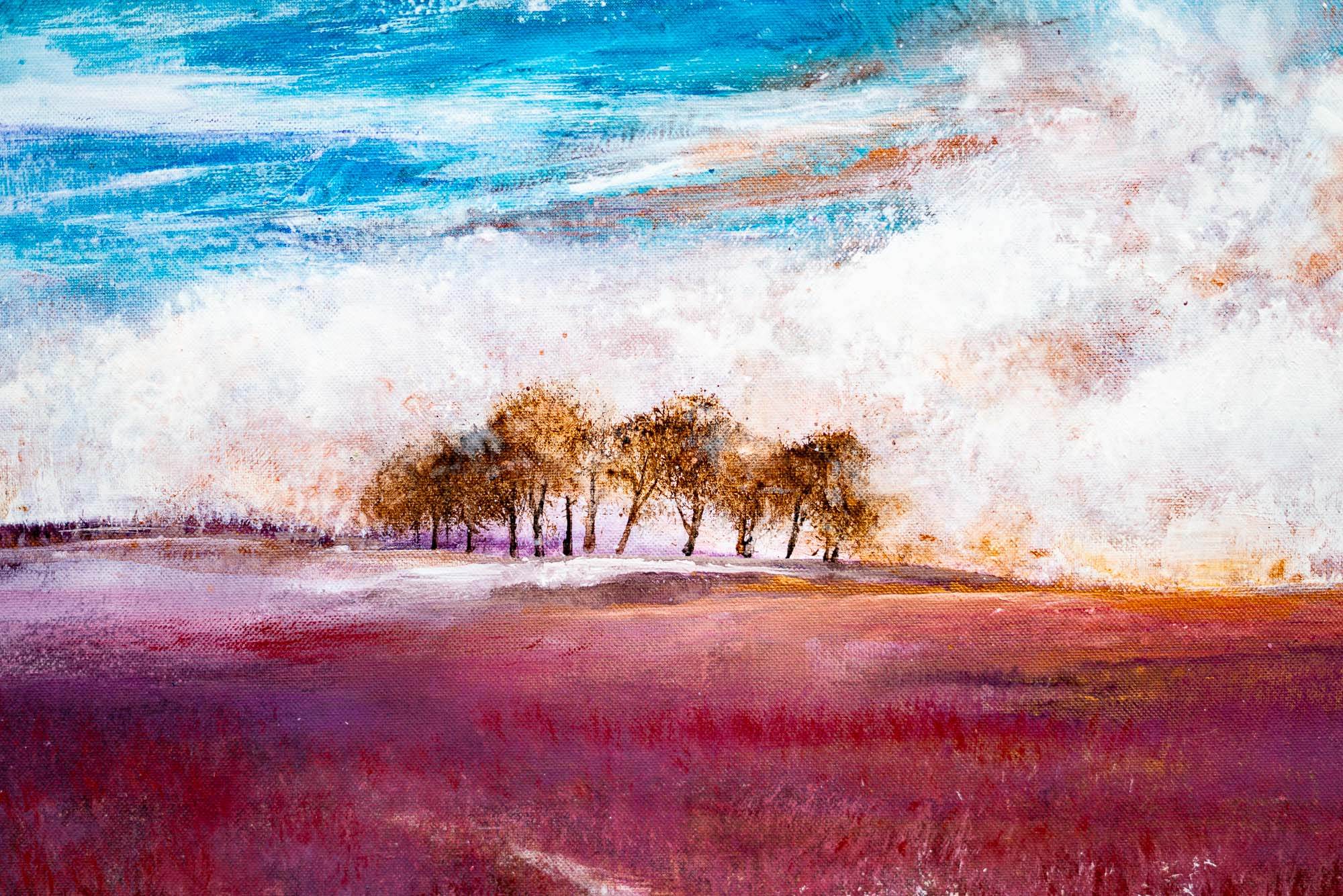 Rosemary Abrahams Landscape Painting