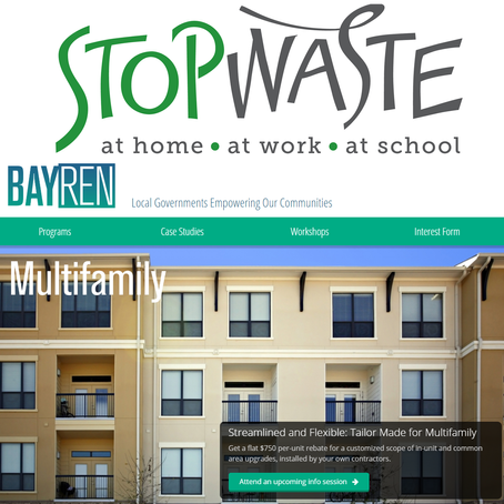 BayREN Multifamily Program Recognized Nationally for Effectiveness and Innovation