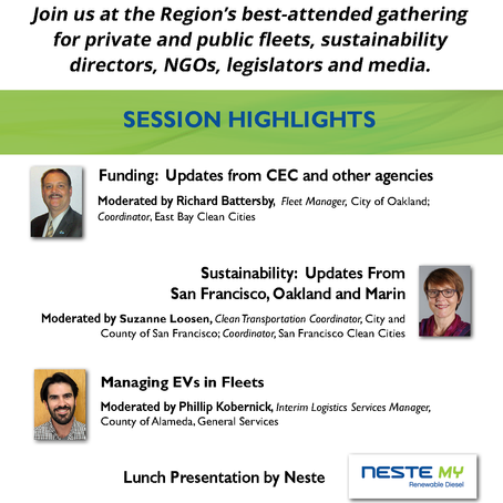 May 28, 2019 - Learn About and Drive Alternative Fuel Vehicles at the 6th Annual Bay Area AltCar
