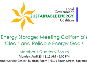 Energy Storage: Meeting California's Clean and Reliable Energy Goals