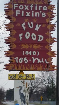 Foxfire Fixin's Fun Food