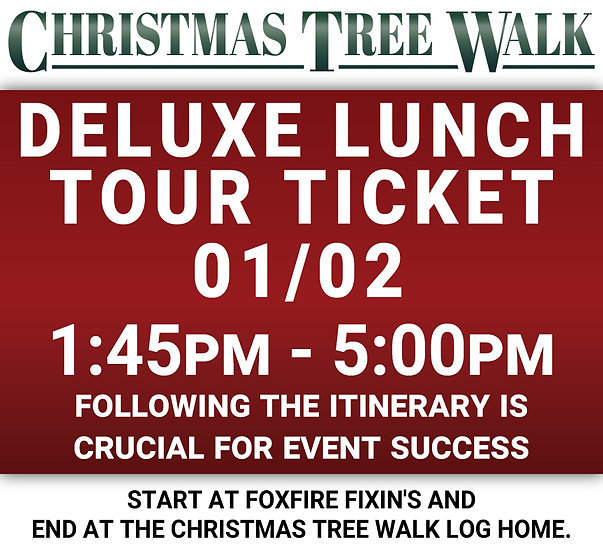 Deluxe  - 01/02 - Lunch Tour Ticket