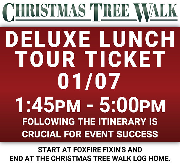 Deluxe  - 01/07 - Lunch Tour Ticket