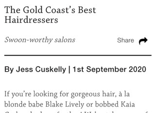 """""""Gold Coast's Best Hairdressers"""" 2020 by Style Magazine"""