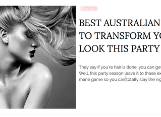 Best Australian Salons - Fashion Weekly 2018