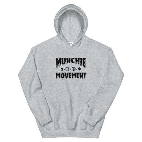 Munchie Movement (Black Logo) Unisex Hoodie
