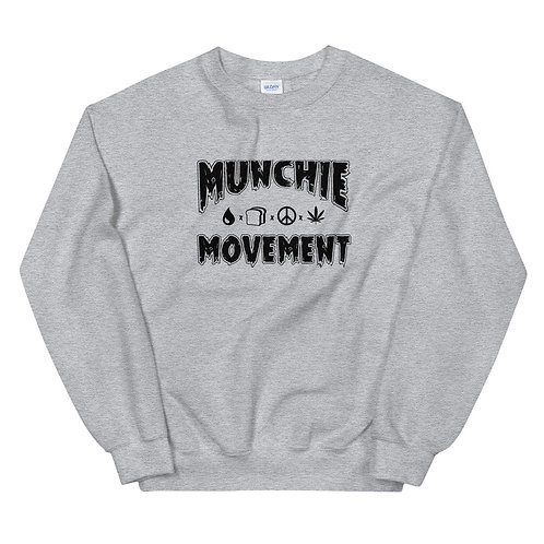 Munchie Movement (Black Logo) - Unisex Sweatshirt