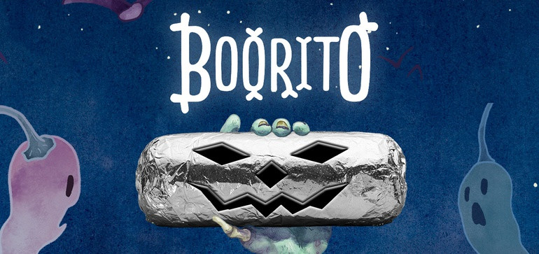 Halloween social media post examples - Chipotle