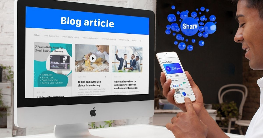 How to Turn Your Blog Posts into Social Media Content with Hookle for Small Businesses