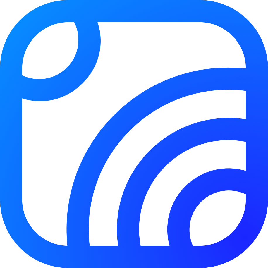 Blue logo  - without text