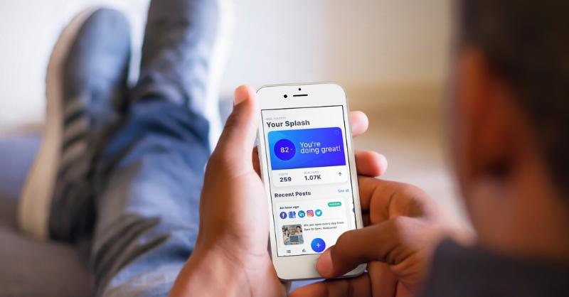 Simple social media manager for enterpreneurs