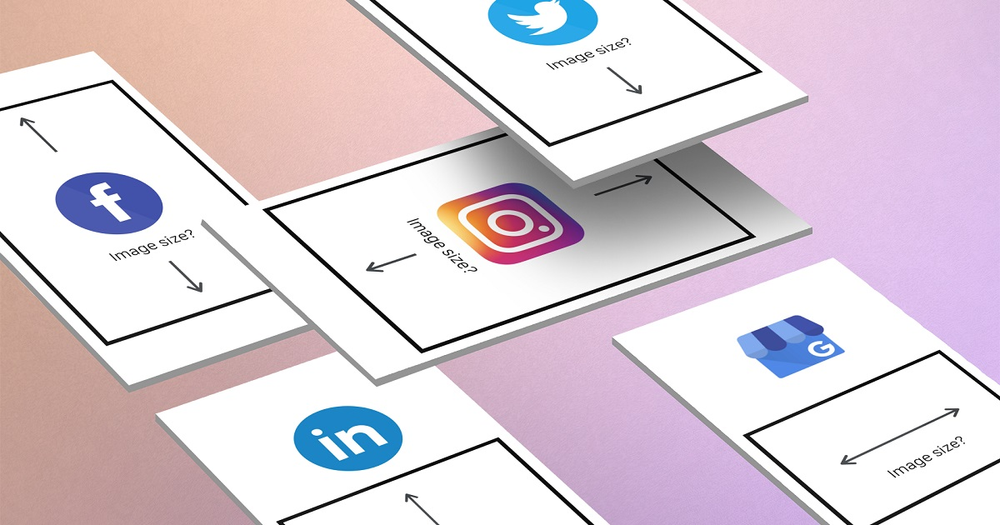 Social media image sizes – cheat sheet for small businesses - with Hookle