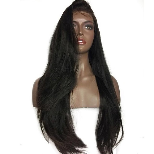 HD Straight Full Lace Wig 180 Density