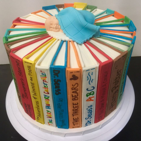 Childrens Book Cake