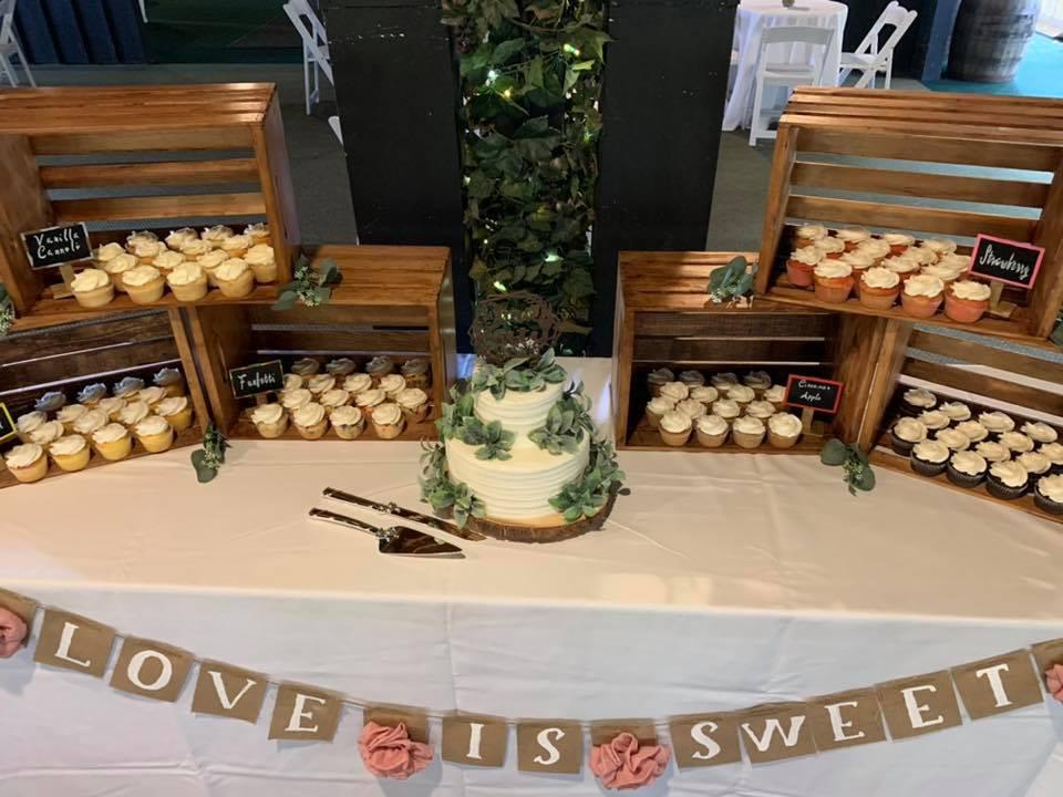 Wedding Cake Wedding Cupcakes