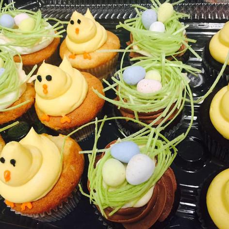 Easter Cupcakes | Moneta Moments