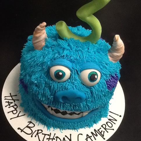 Monsters Inc Cake | Moneta Moments