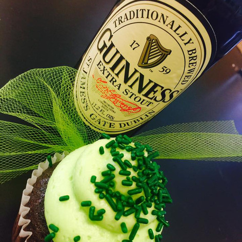 Guinness Cupcakes | Moneta Moments