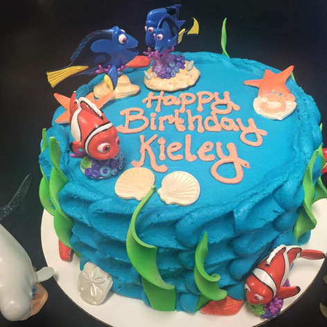 Finding Nemo Cake | Moneta Moments