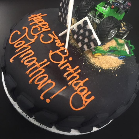 Boys Birthday Cake | Moneta Moments