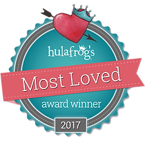 Hulafrog Most Loved Award Winner
