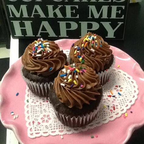 Chocolate Cupcakes | Moneta Moments