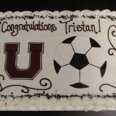 Soccer Cake | Moneta Moments