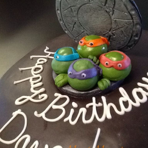 Teenage Mutant Ninja Turtles Cake | Moneta Moments