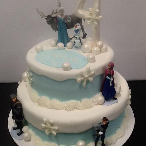 Frozen Cake | Moneta Moments