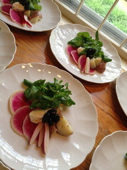 Tallulah's Catering Plated Salad