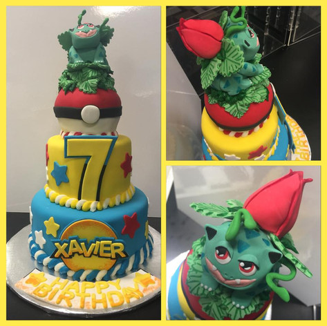 Pokemon Cake | Moneta Moments