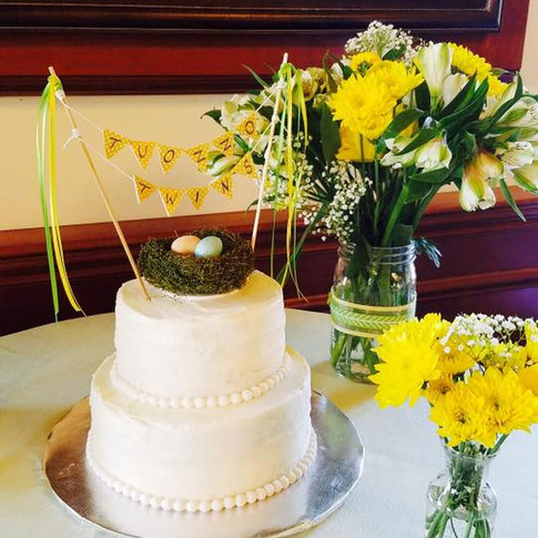 Baby Shower Cake | Moneta Moments