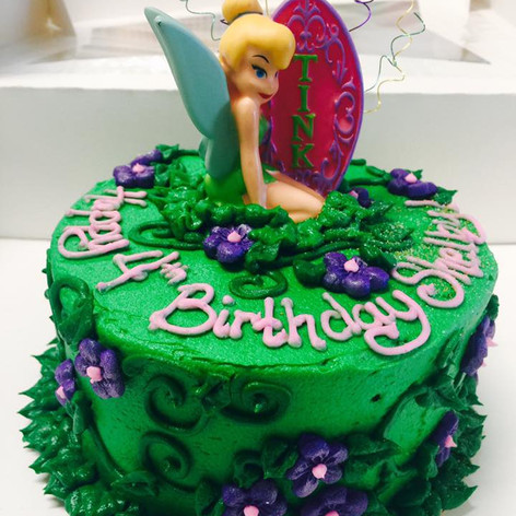 Tinkerbell Cake | Moneta Moments