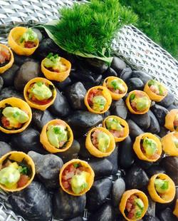 Tallulah's Catering Tuna Tartar