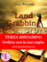 Land Grabbing - Copertina - Luca Bortone