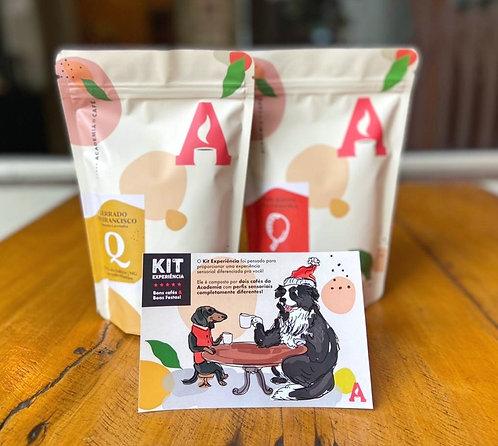 Kit experiência - Dois cafés, uma experiência sensorial