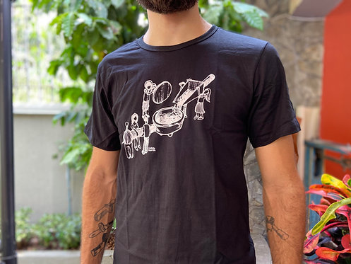 Camiseta Porta Filtro Masc
